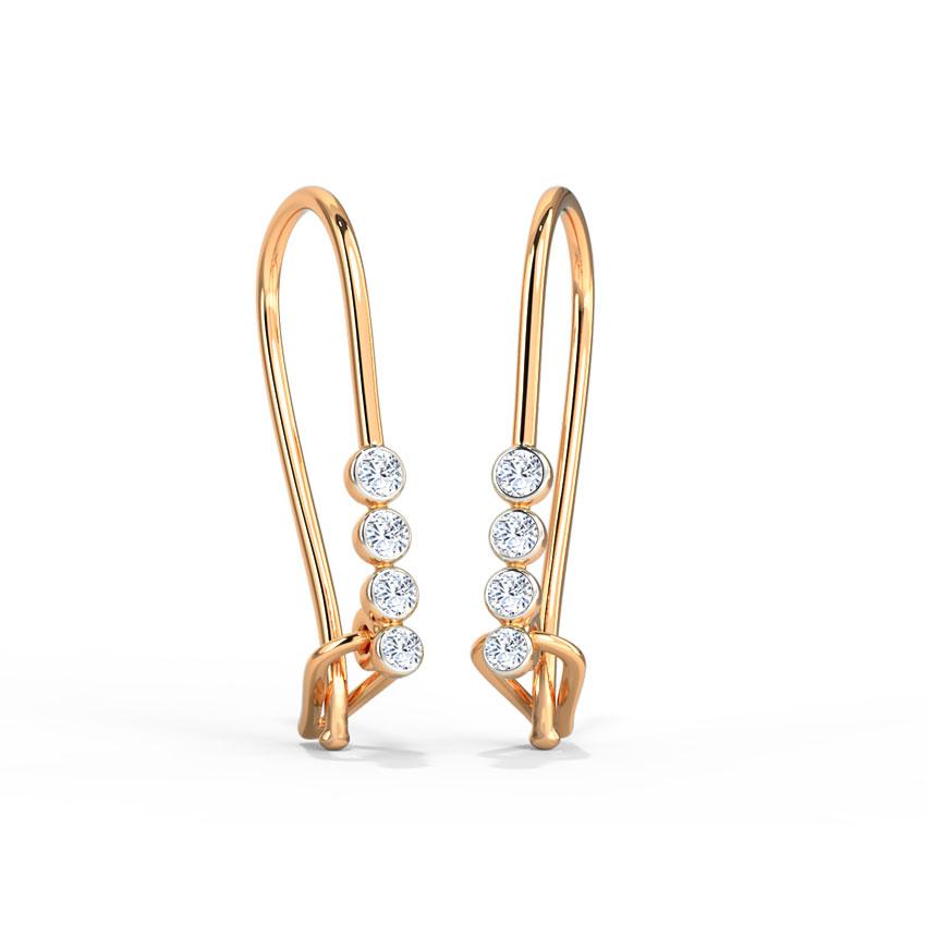Dewdrops Linear Drop Earrings