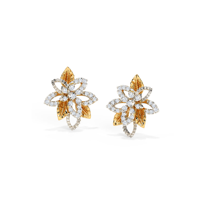 Dazzling Bloom Stud Earrings