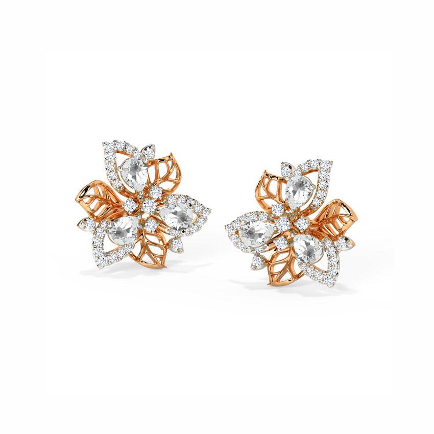 Enticing Bloom Stud Earrings