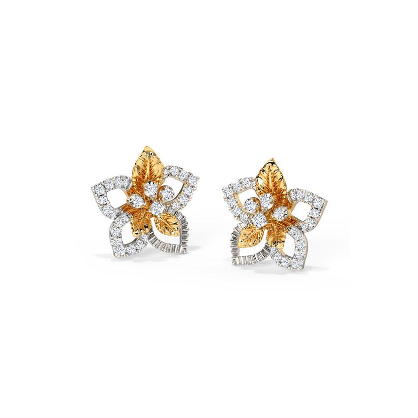 Charming Bloom Stud Earrings