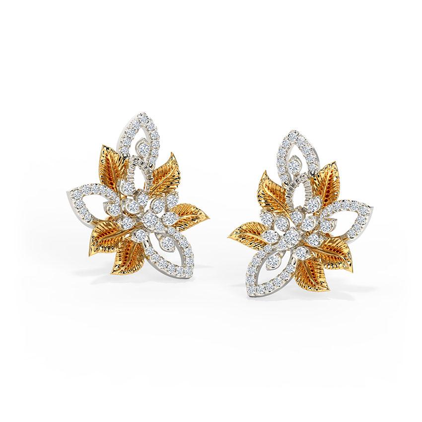 Alluring Bloom Stud Earrings