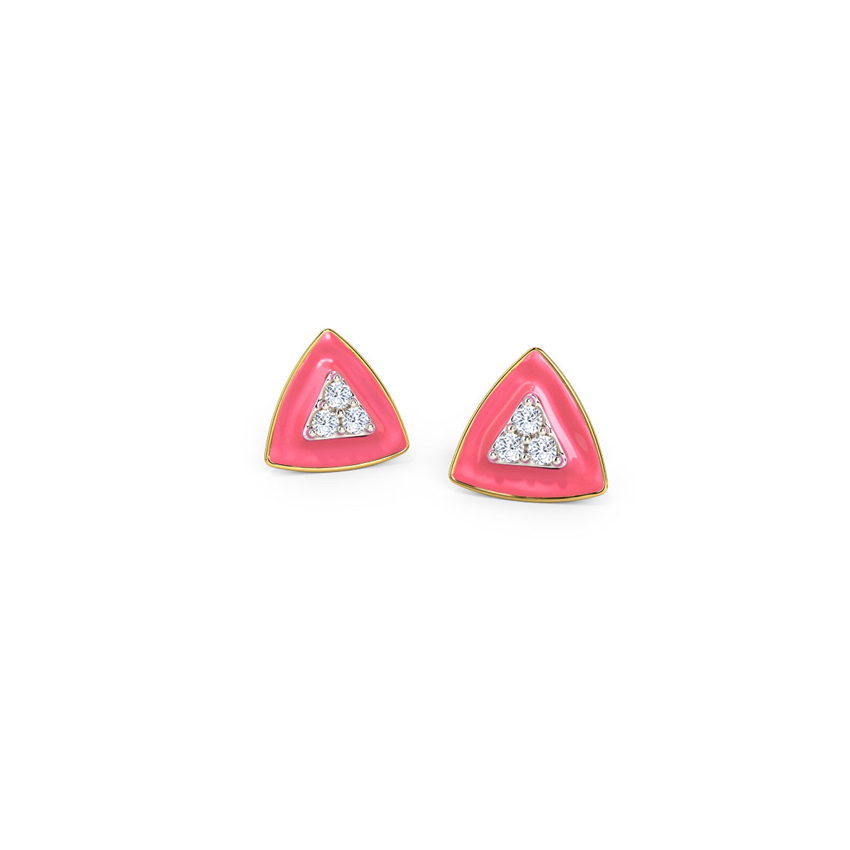 Triune Stud Earrings