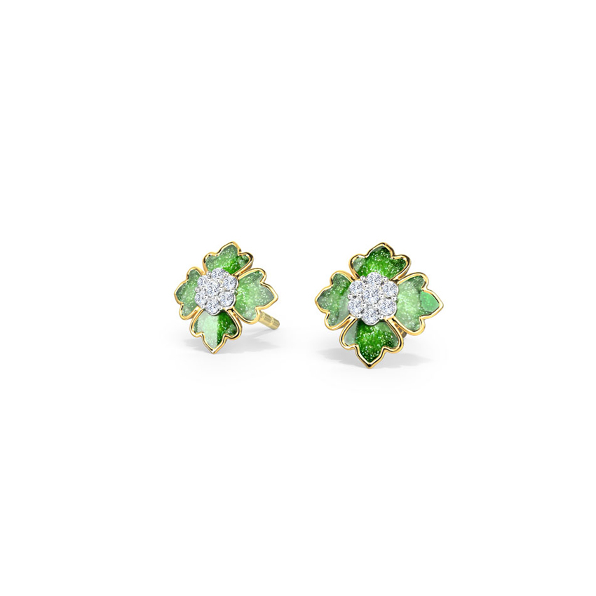 Ornate Stud Earrings
