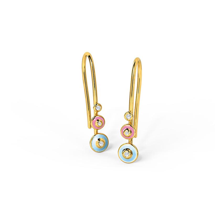 Caratlane Gold Drop Earrings: Buy Caratlane Gold Drop