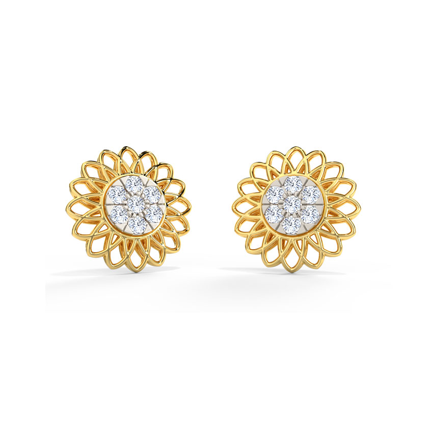 Evie Detachable Stud Earrings