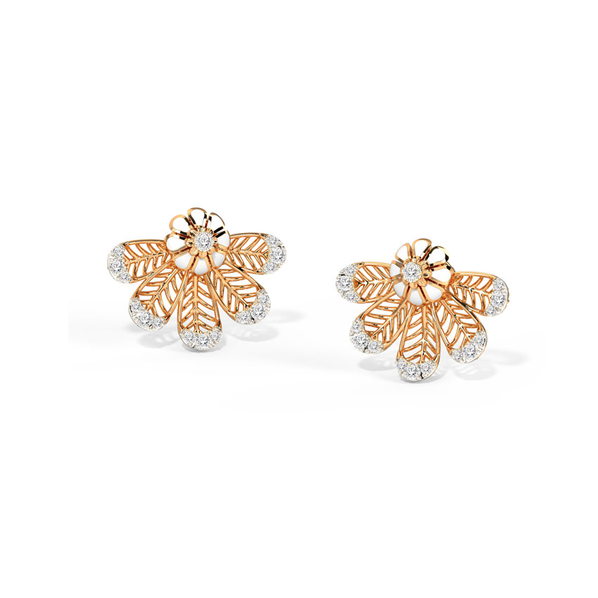Harmony Bloom Stud Earrings