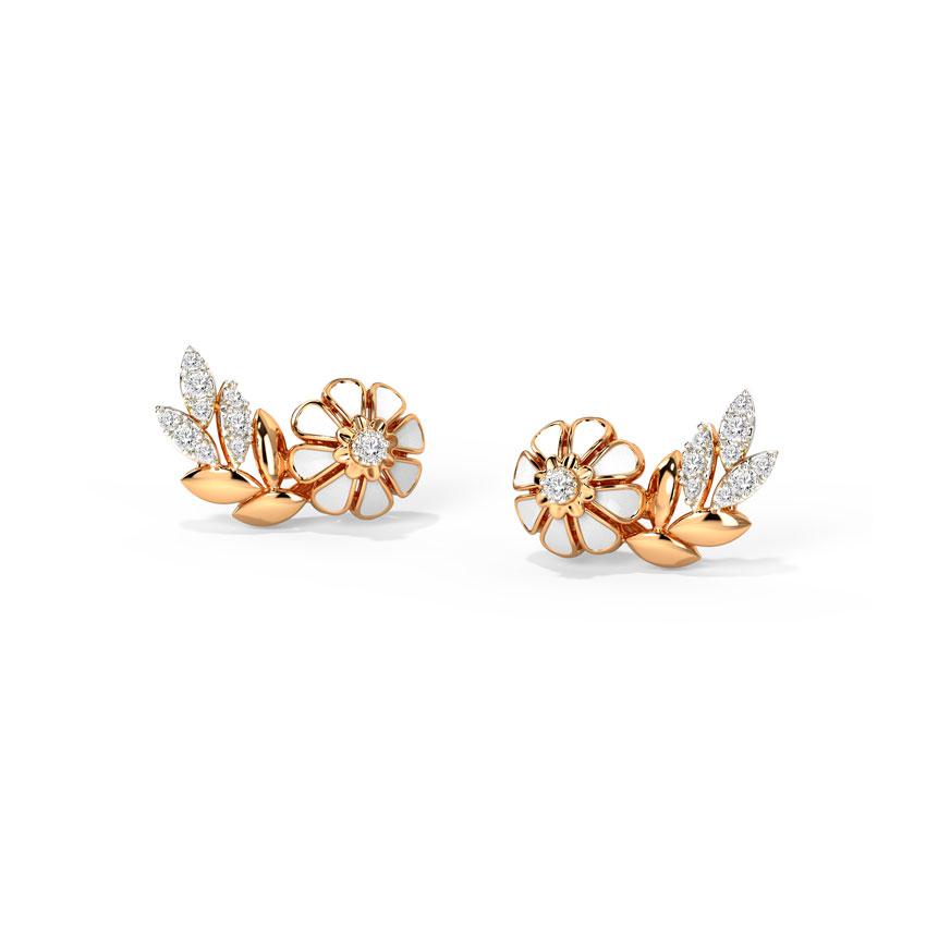 Joyous Floret Stud Earrings