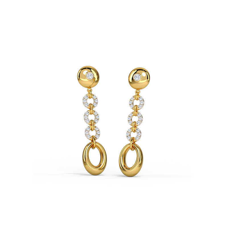 Twirling Beauty Earrings