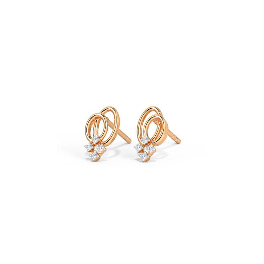 Duet Sparkle Stud Earrings