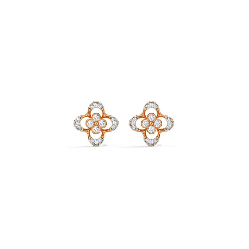 Fancy Flora Stud Earrings