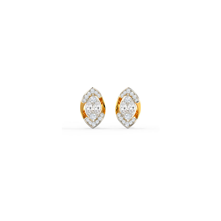 Marquise Dew Stud Earrings