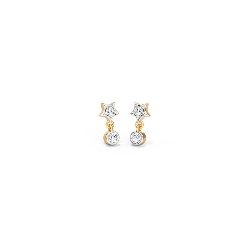 Star Shine Drop Earrings