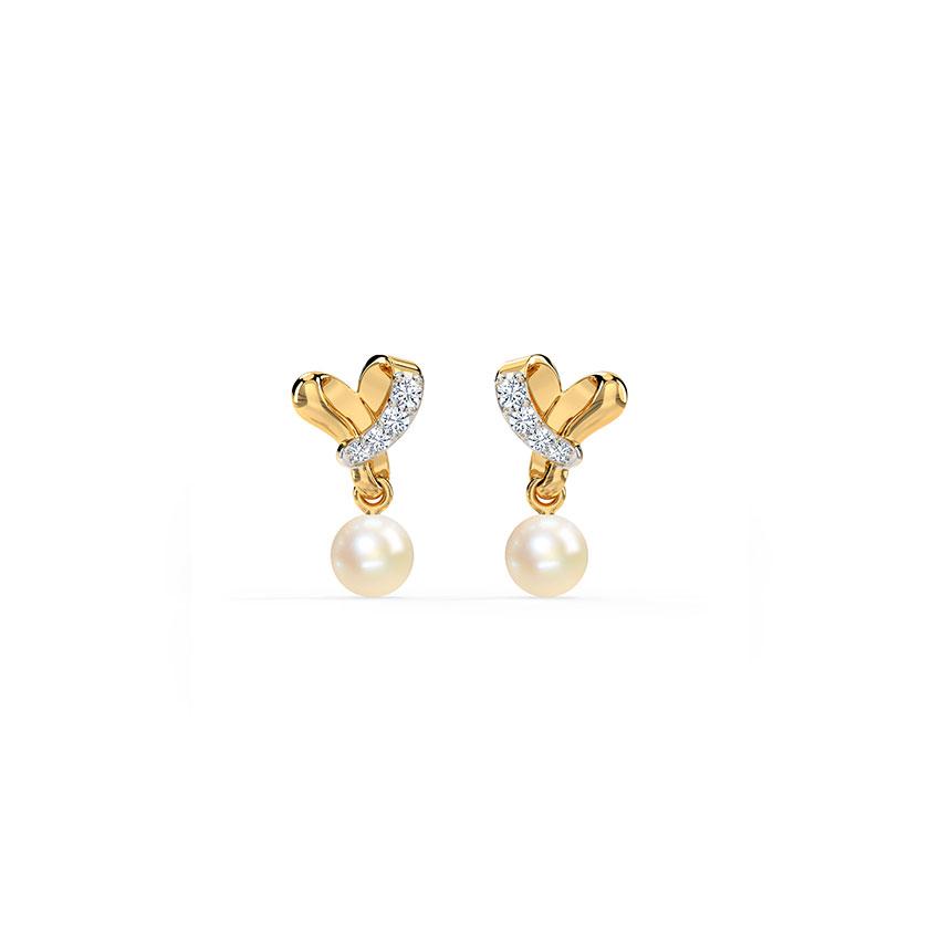Furl Love Stud Earrings