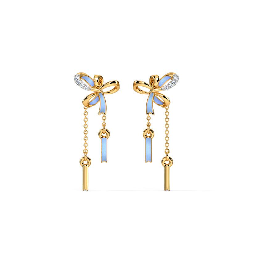 Tassel Dazzle Drop Earrings