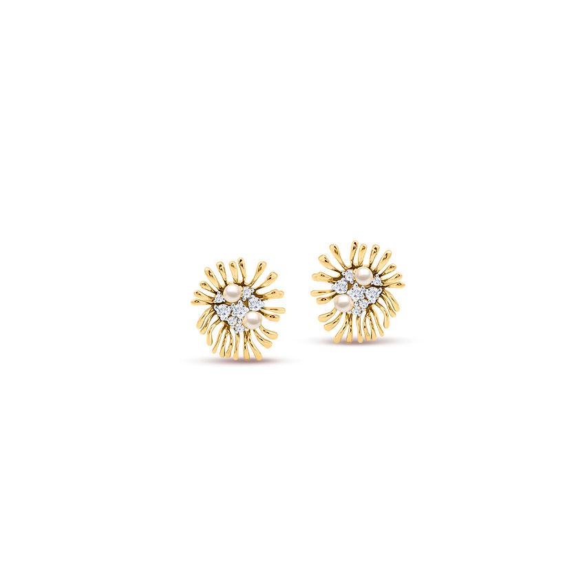 Sandy Shore Stud Earrings