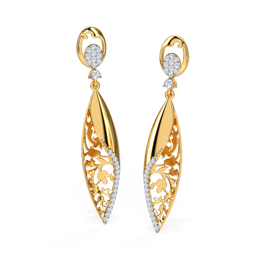 Arbella Ornate Drop Earrings