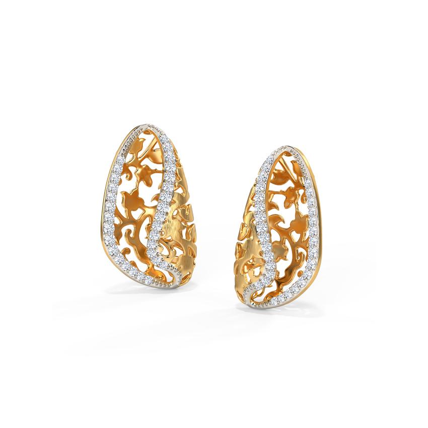Nyssa Ornate Stud Earrings