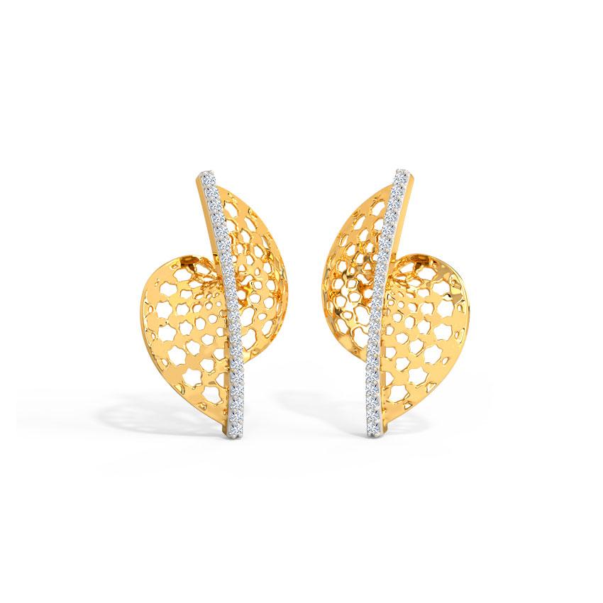 Amaira Ornate Stud Earrings