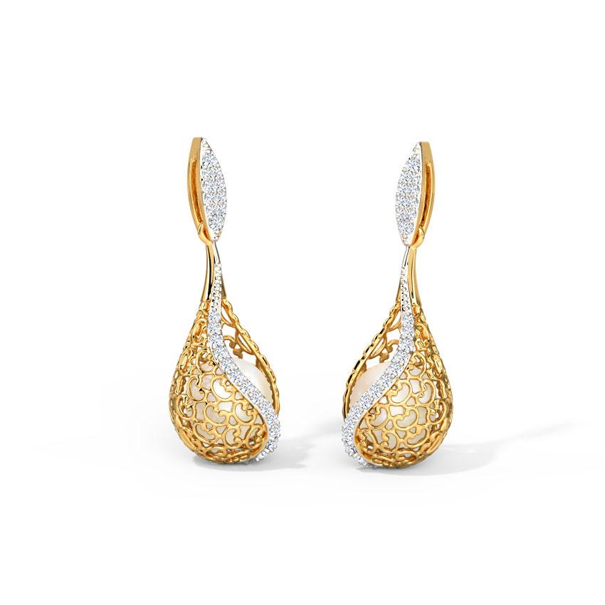 Jisha Ornate Drop Earrings