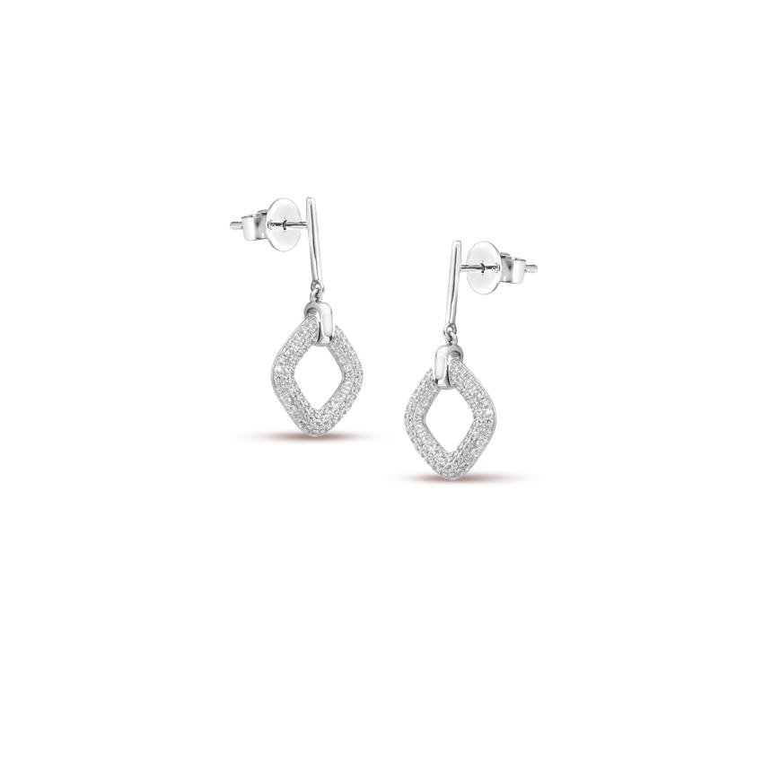 Shimmery Dew Quad Earrings