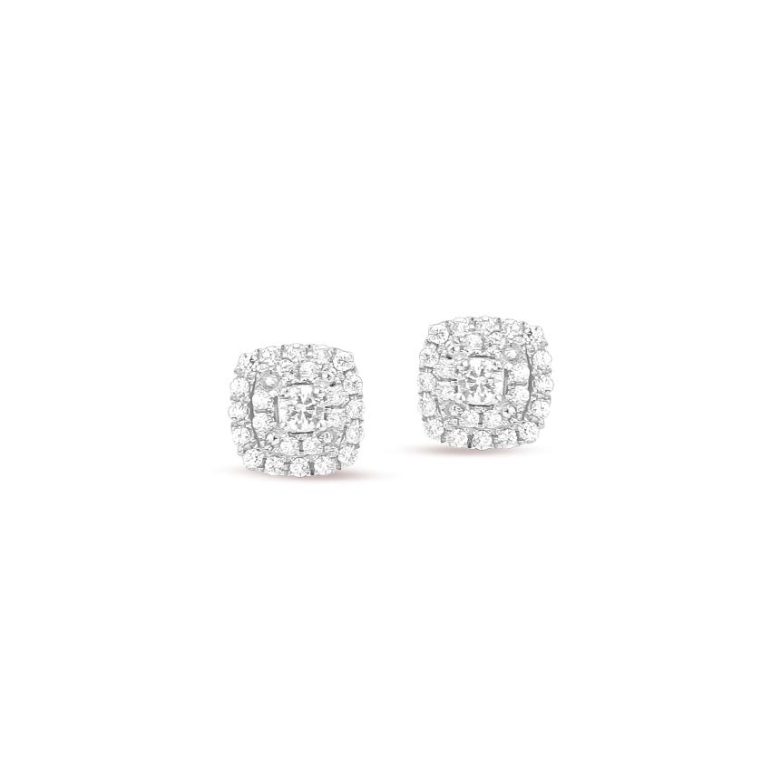 Glowing Cluster Stud Earrings