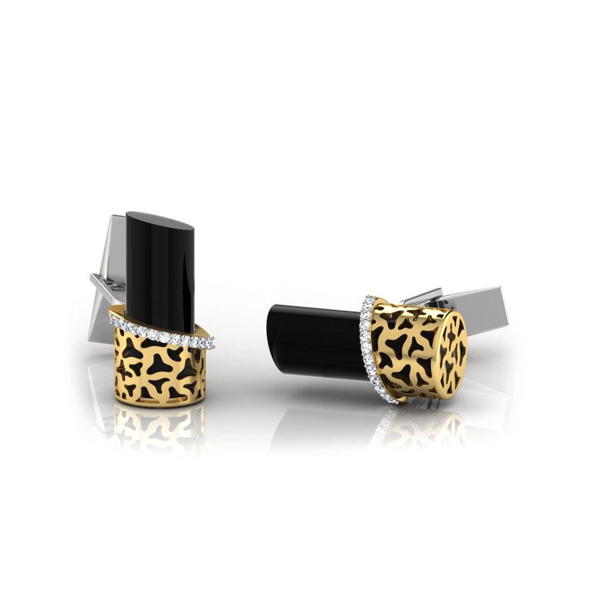 Bert Gold and Silver Cufflinks
