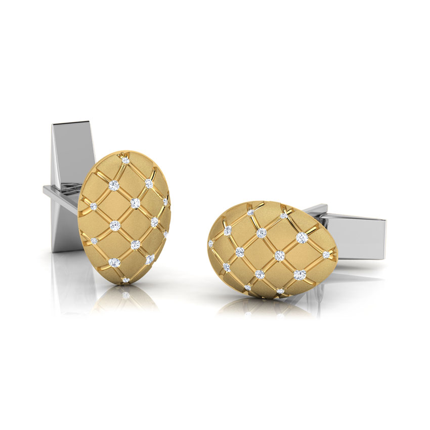 Jacob Gold and Silver Cufflinks