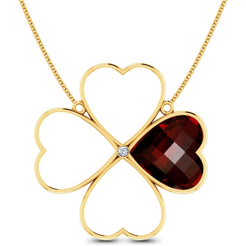 Fiore Rose Necklace