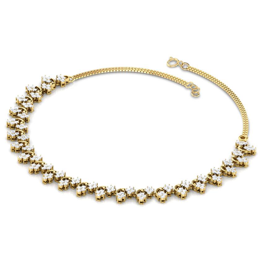Evening Primrose Necklace