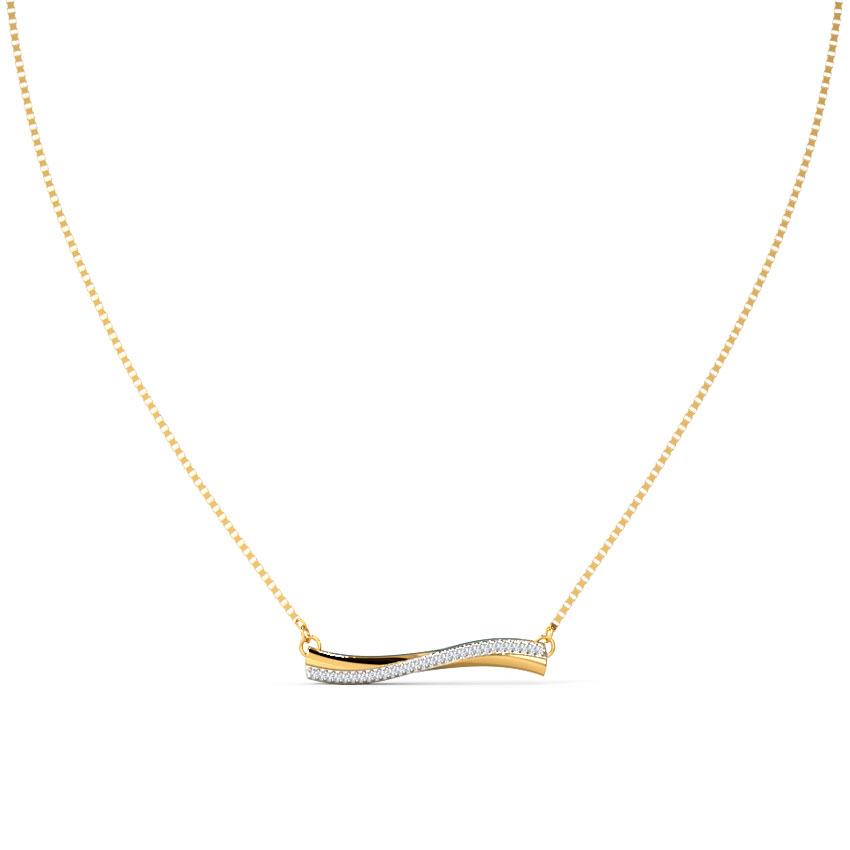 Amias Bar Necklace
