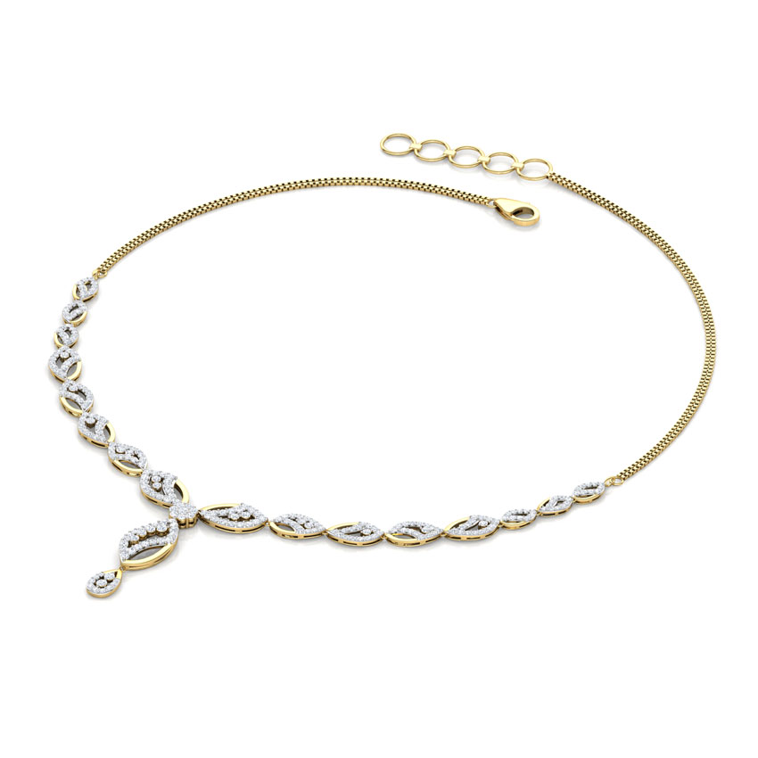 Clematis Leaf Necklace