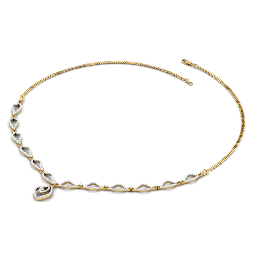Ana Curved Necklace