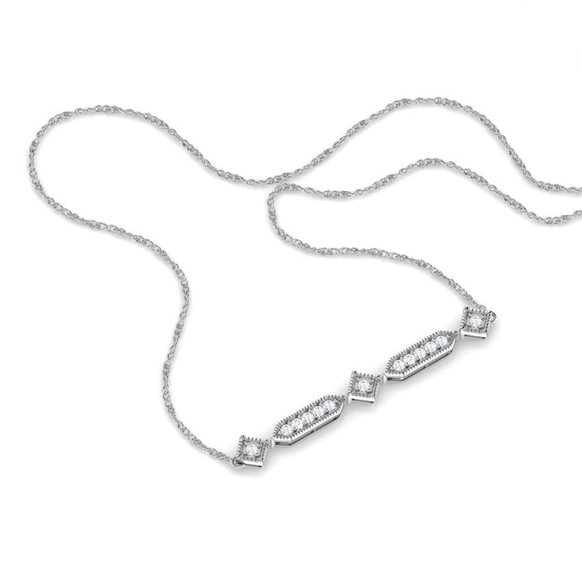 Tia Infinite Bar Necklace