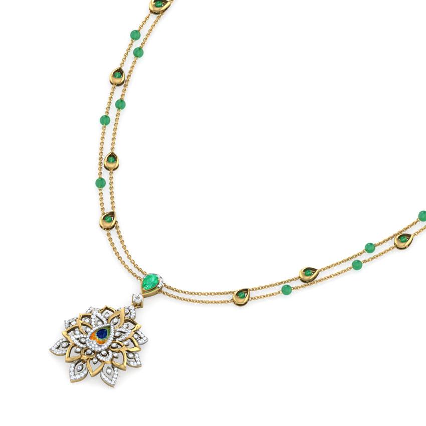 Flair Peacock Necklace
