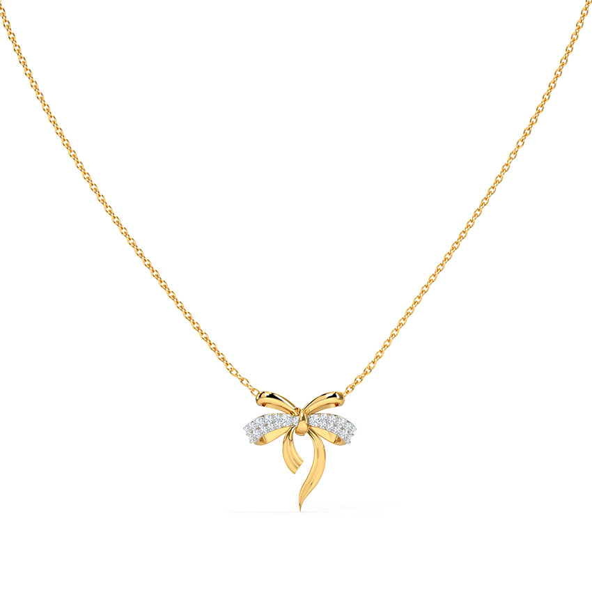 Cute Bow Necklace