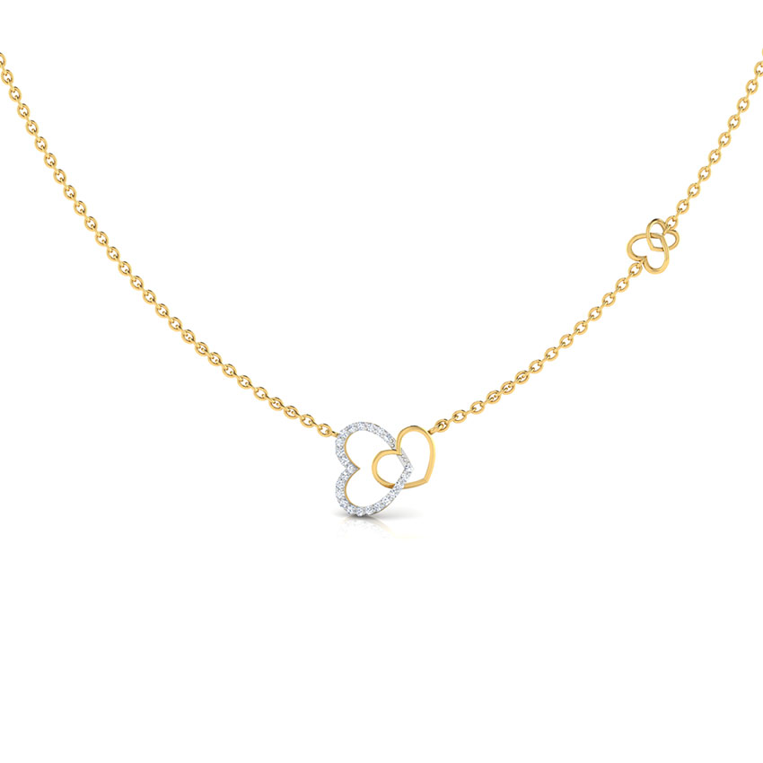 Interlinked Hearts Necklace