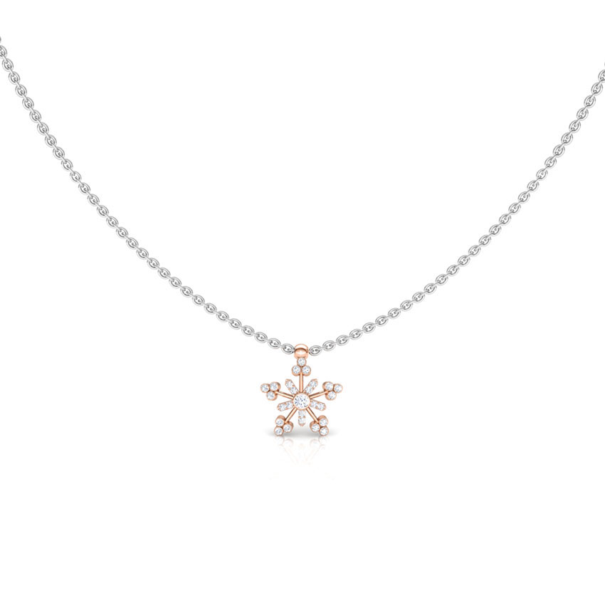 Sparkling Star Chain Necklace