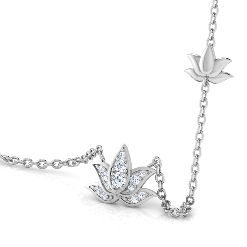 Blossom Lotus Chain Necklace