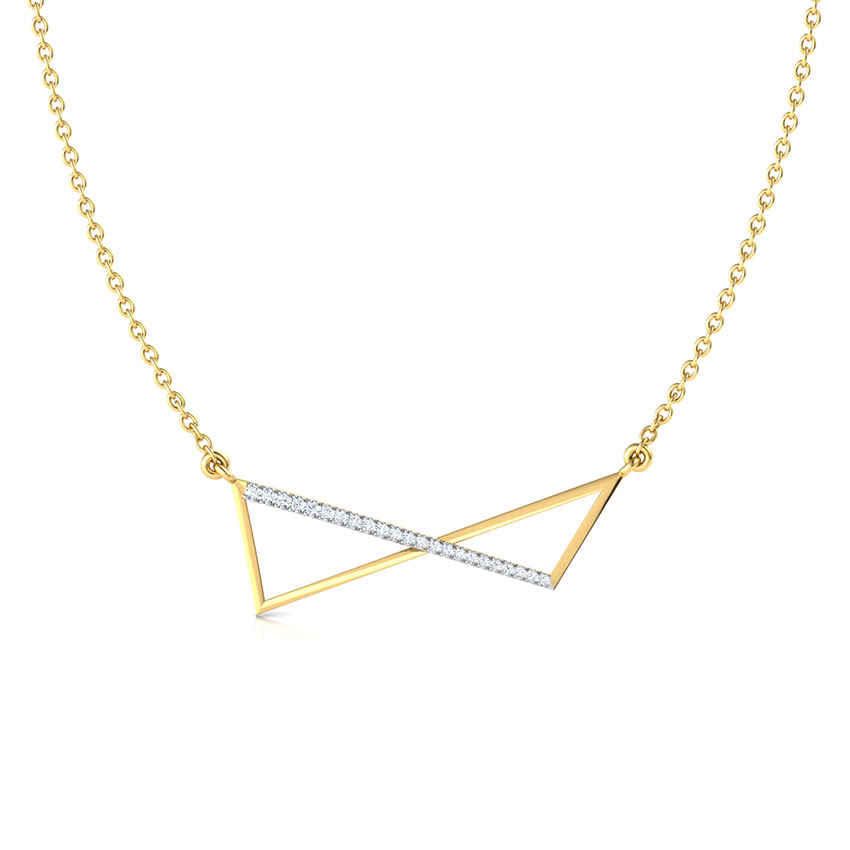 Flux Geometric Necklace