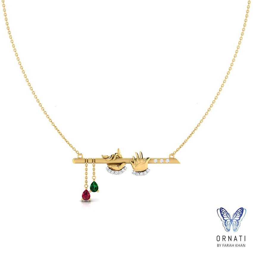 Krishna Bansuri Necklace