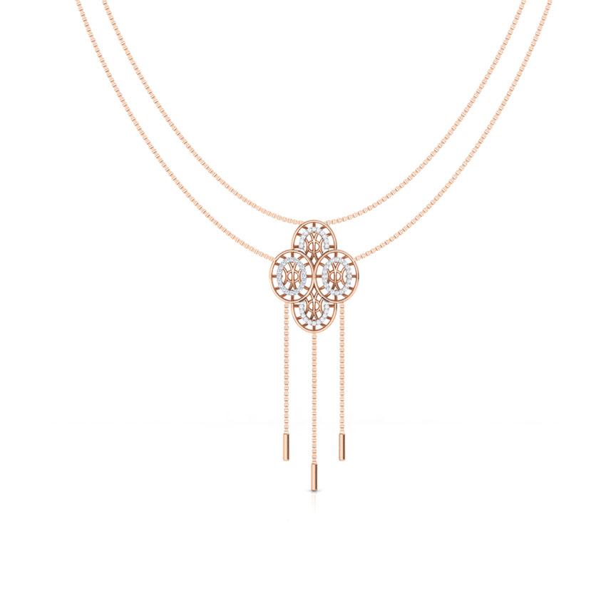 Bhavan Circular Diamond Necklace