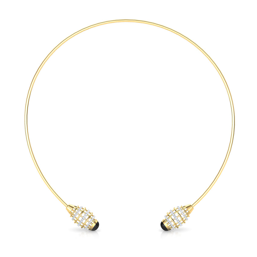 Eros Minaret Choker Diamond Necklace