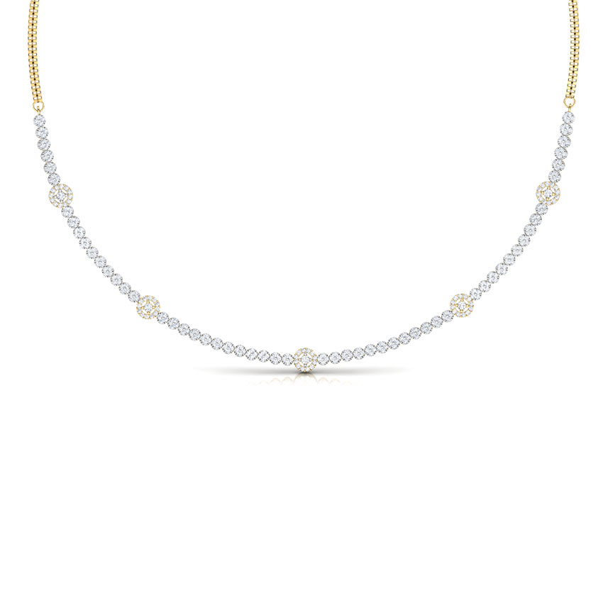 Encircle Diamond Necklace