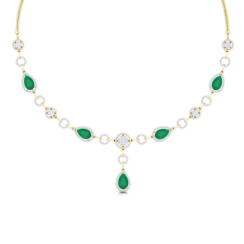 Elegant Halo Necklace
