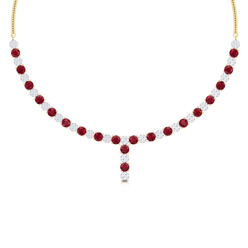 Enduring Cluster Necklace