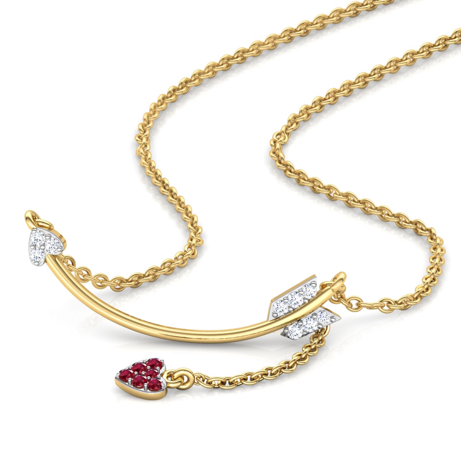 Cupid Bar Necklace