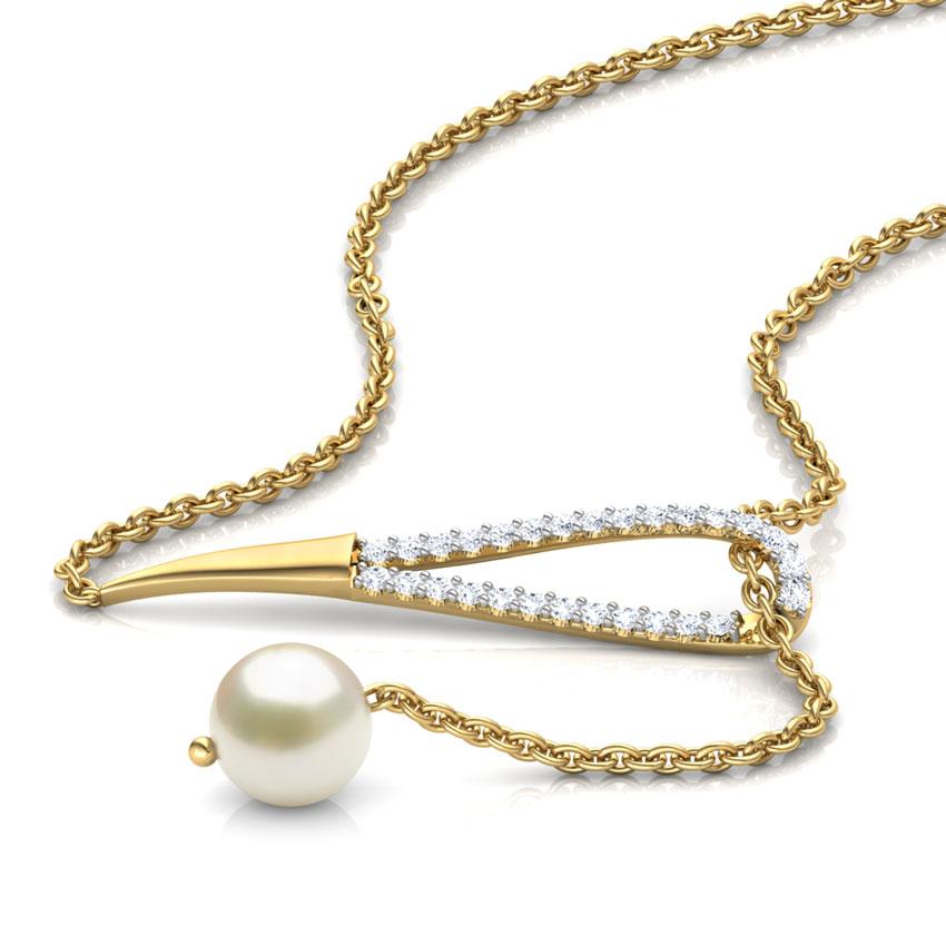 Loop Lariat Chain Necklace