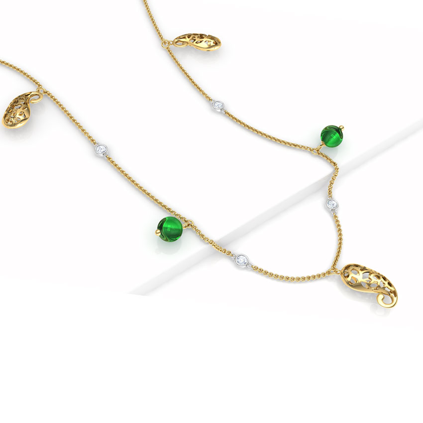 Majestic Paisley Necklace