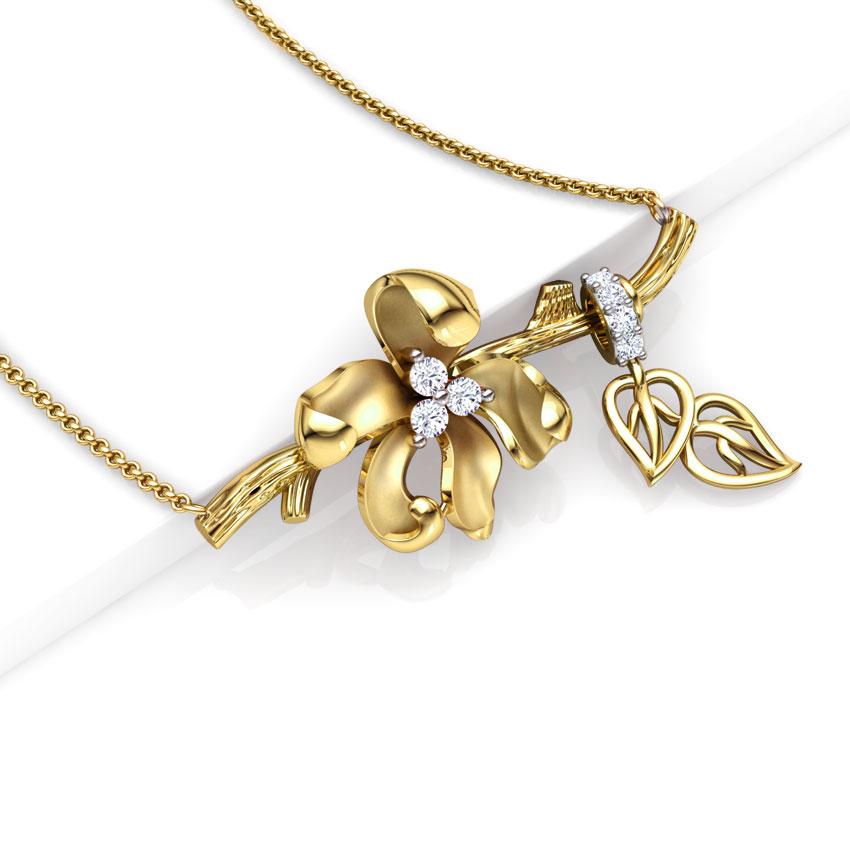 Iris Floret Chain Necklace