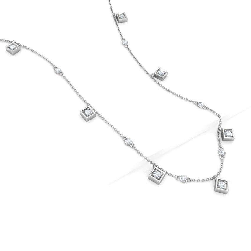 Quad Fine Line Necklace